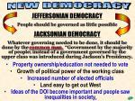 new democracy