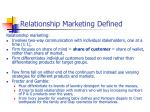 relationship marketing defined1