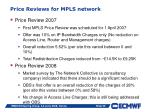 price reviews for mpls network