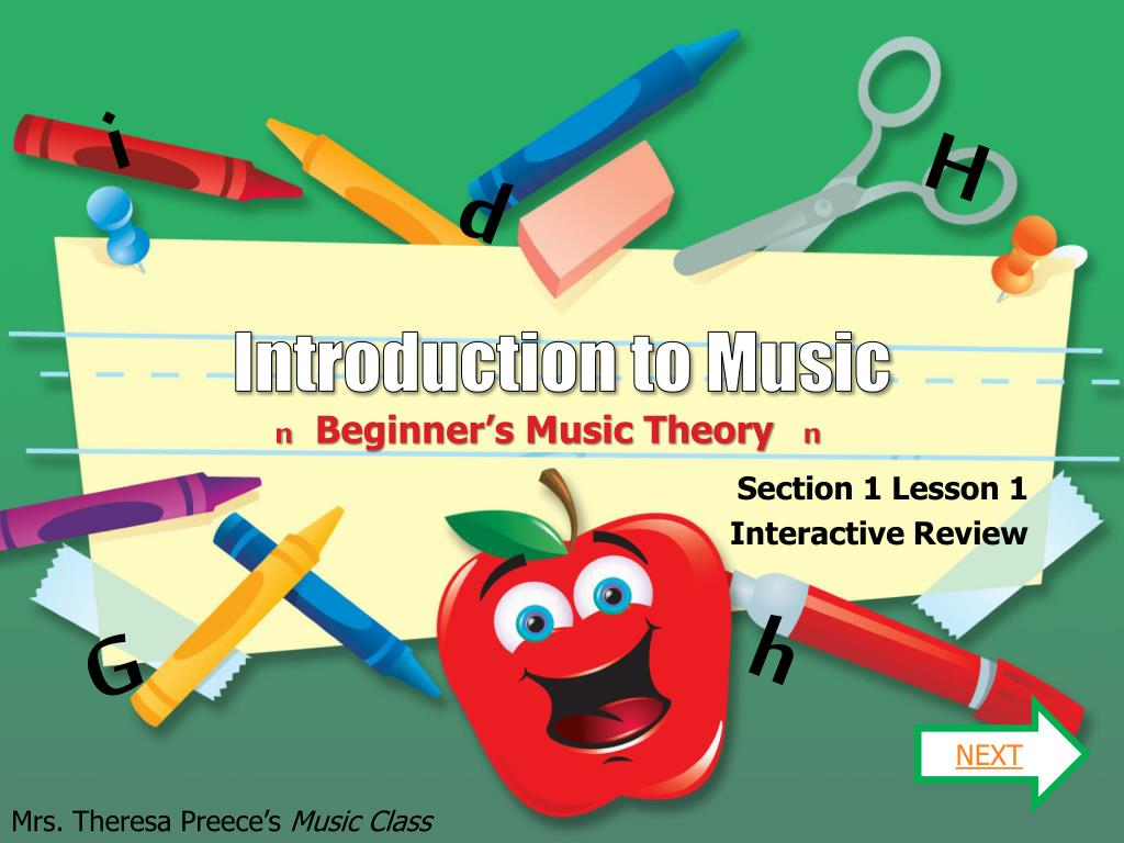 introduction to music l.