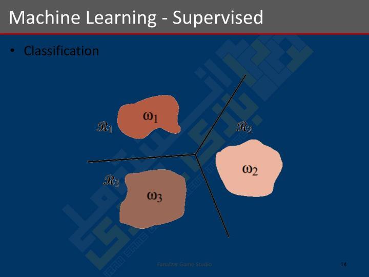 Machine Learning - Supervised