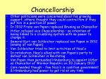 chancellorship