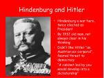 hindenburg and hitler