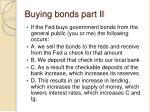 buying bonds part ii