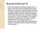 buying bonds part iii