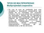 tipos de multipropiedad multipropiedad cooperativa