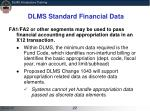 dlms standard financial data