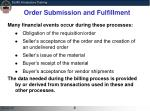 order submission and fulfillment1