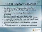 oecd review responses