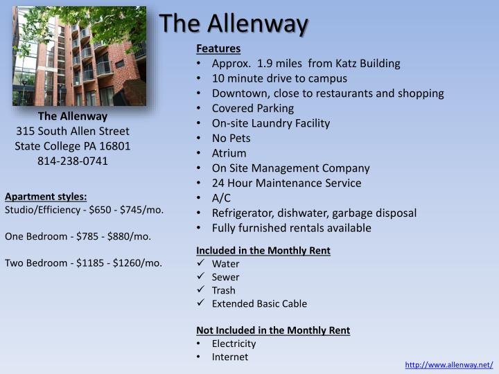 Allenway Building State College
