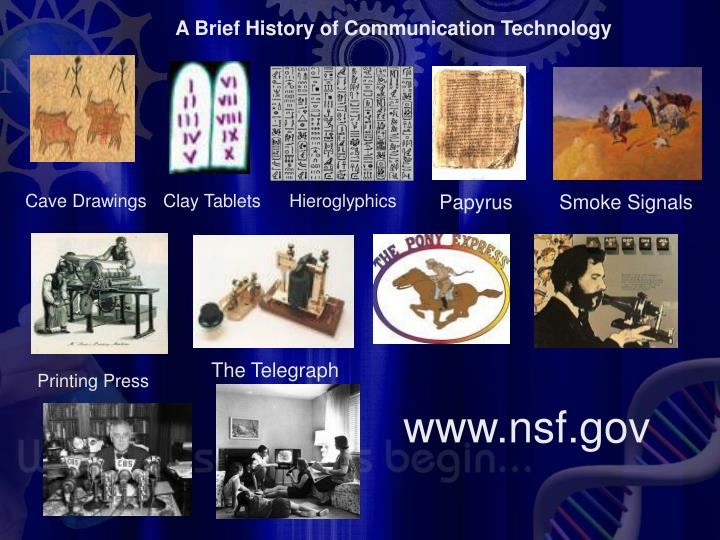 A Brief History of Communication Technology