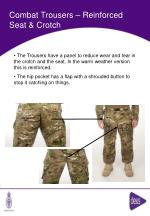 combat trousers reinforced seat crotch