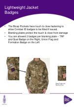 lightweight jacket badges