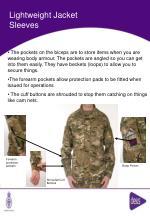 lightweight jacket sleeves