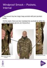 windproof smock pockets internal