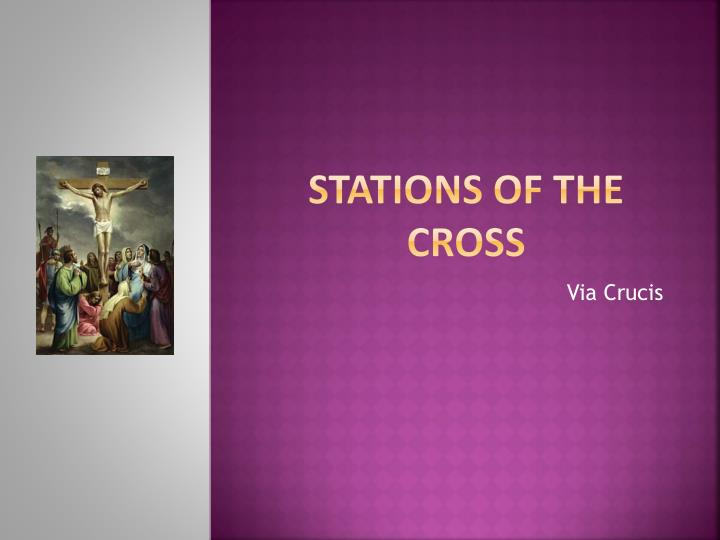 stations of the cross n.