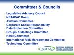 committees councils