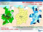 densit de dentistes 10 000 hab canton au 30 juin 2012