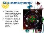 o je chemick prvok