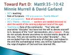 toward part d matt9 35 10 42 minnie murrell david garland5