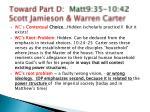 toward part d matt9 35 10 42 scott jamieson warren carter1