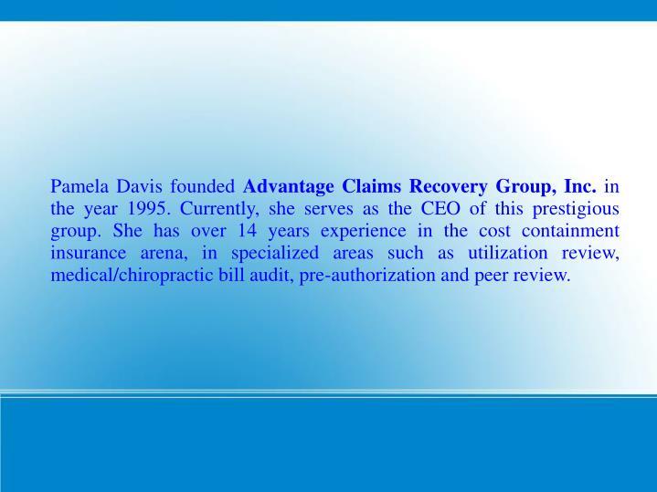 Pamela Davis founded