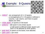 example 8 queens