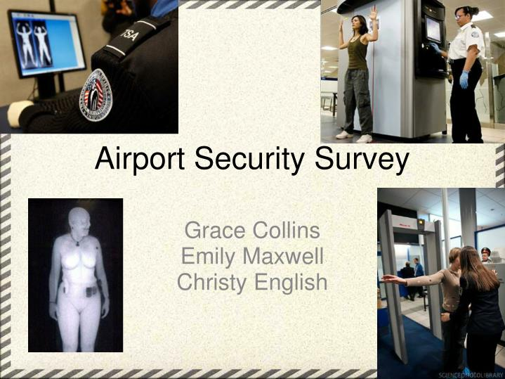 airport security survey n.