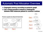 automatic pool allocation overview