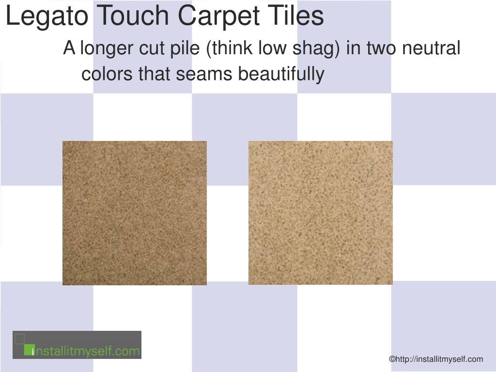 Legato Touch Carpet Tiles