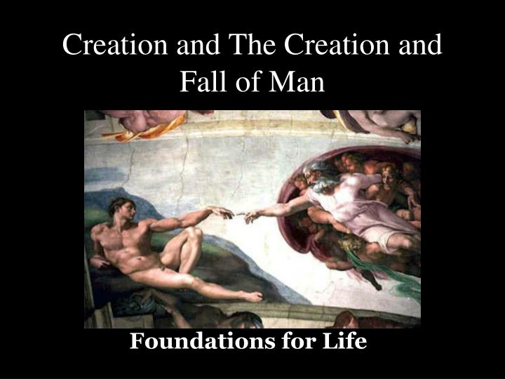 creation and the creation and fall of man n.