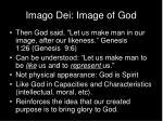 imago dei image of god