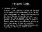 physical death