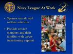 navy league at work5