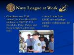 navy league at work7
