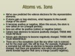 atoms vs ions