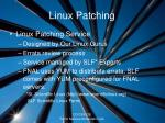 linux patching