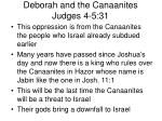 deborah and the canaanites judges 4 5 311