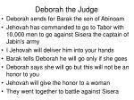 deborah the judge1
