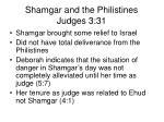 shamgar and the philistines judges 3 311