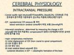 cerebral physiology6