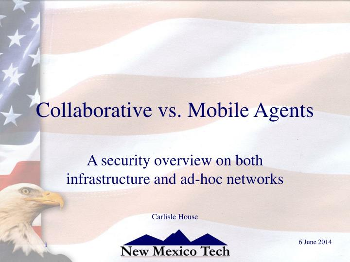collaborative vs mobile agents n.