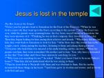 jesus is lost in the temple