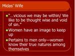 midas wife