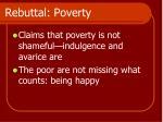 rebuttal poverty1