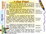 a close friend