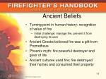 ancient beliefs