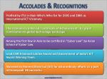 accolades recognitions24