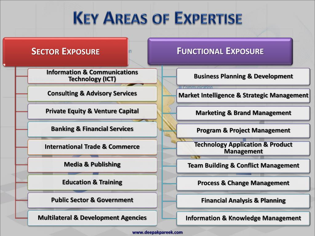 Key Areas of Expertise