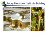 rocky mountain institute building